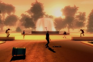 Watch the Teaser Trailer for the Relaxing Skateboard Video Game 'Skate City'