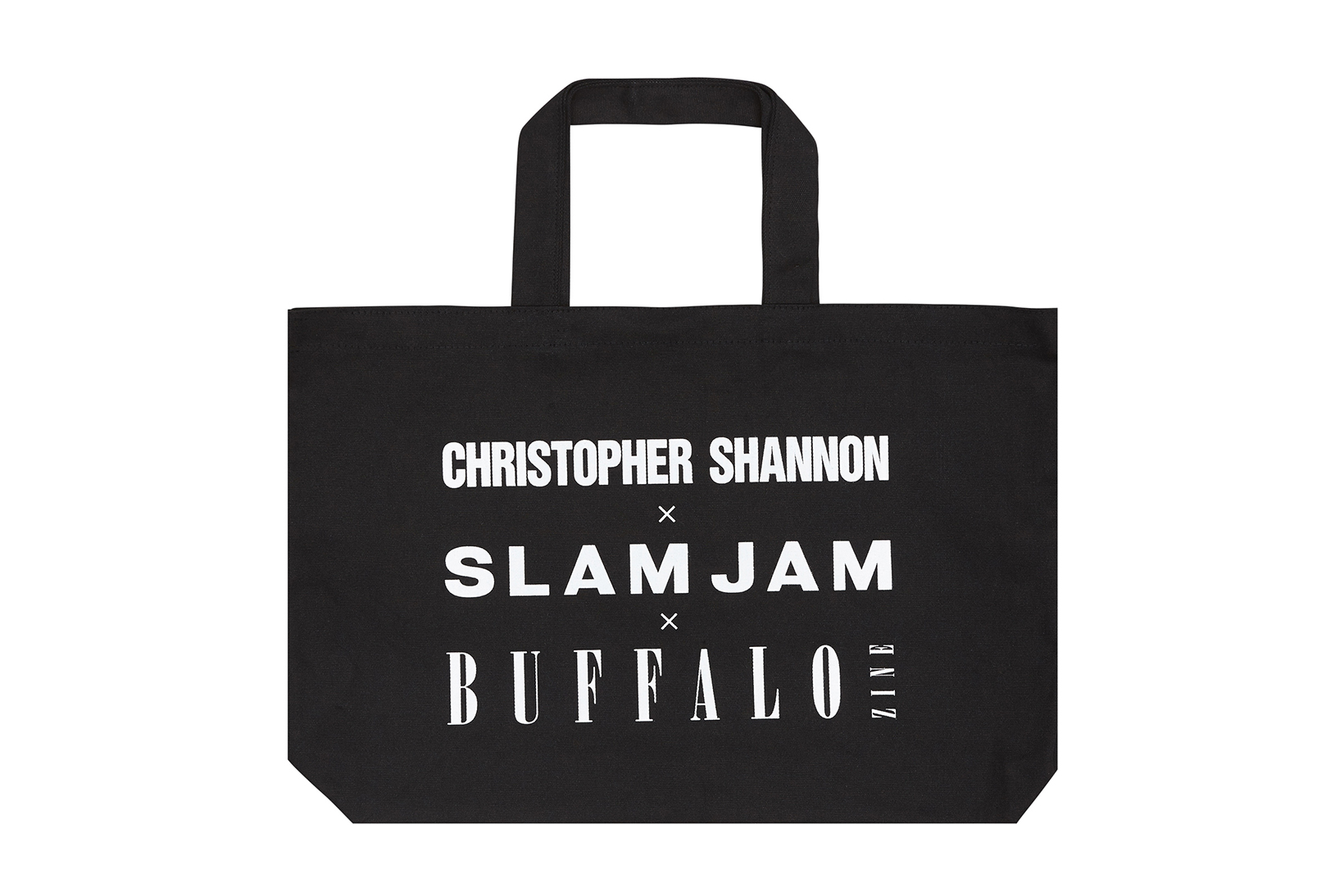 Slam Jam Buffalo Zine Christopher Shannon Capsule Collection