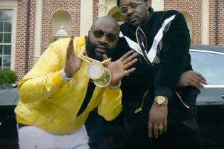 "Smoke DZA & Pete Rock Link up With Rick Ross for The ""Black Superhero Car"" Visual"