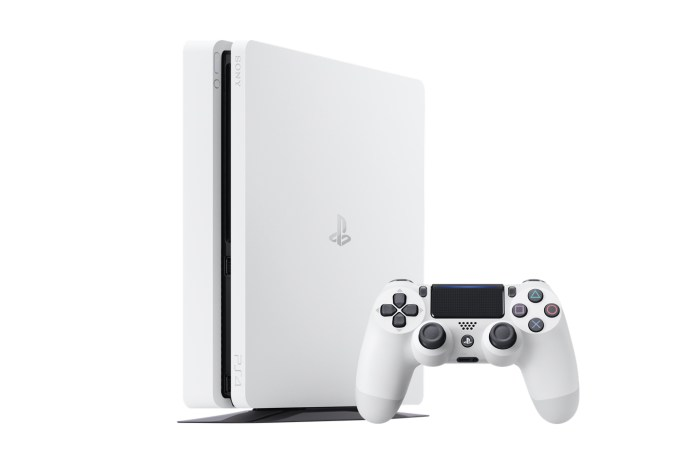 "Sony Is Dropping A ""Glacier White"" PlayStation 4 Slim"