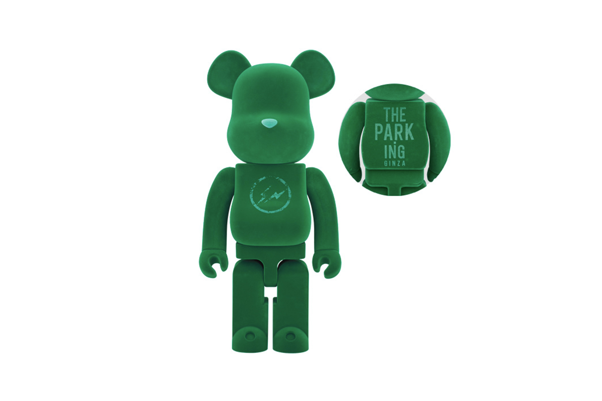 The PARK ING GINZA SPRING HAS COME Exclusive Bearbrick