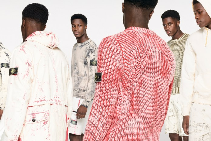 A Closer Look at Stone Island's 2017 Spring/Summer Hand Corrosion Collection