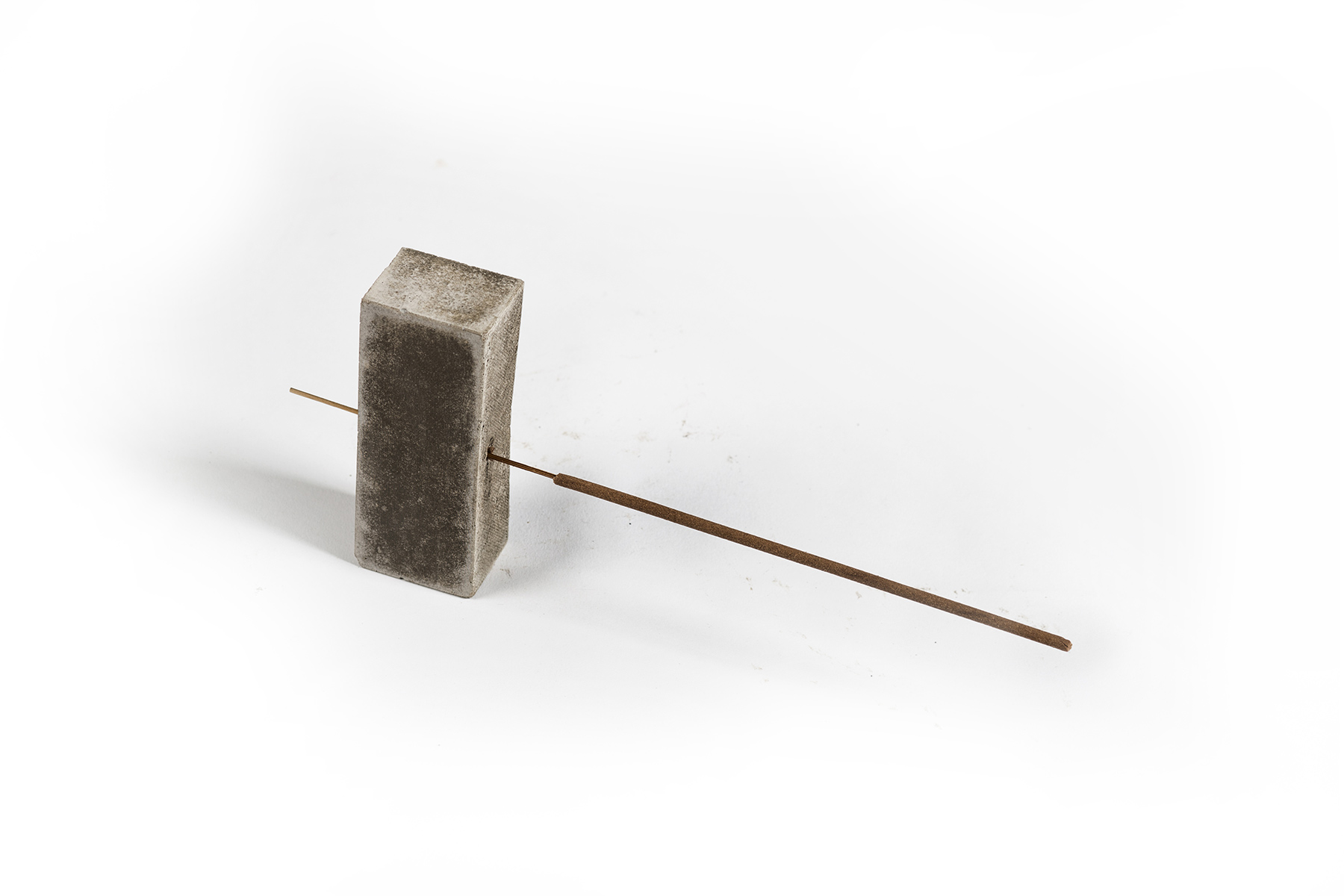 A-COLD-WALL* Samuel Ross Jobe Burns Concrete Objects Incense Cement Cup Holder