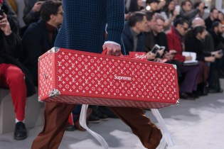 Here Are All the Supreme Pieces That Showed up on Louis Vuitton's 2017 Fall/Winter Show