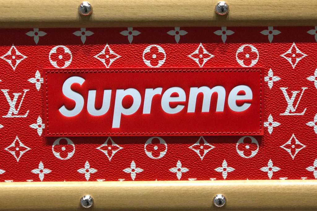 supreme x louis vuitton 2017 fall winter closer look showroom collection hypebeast. Black Bedroom Furniture Sets. Home Design Ideas