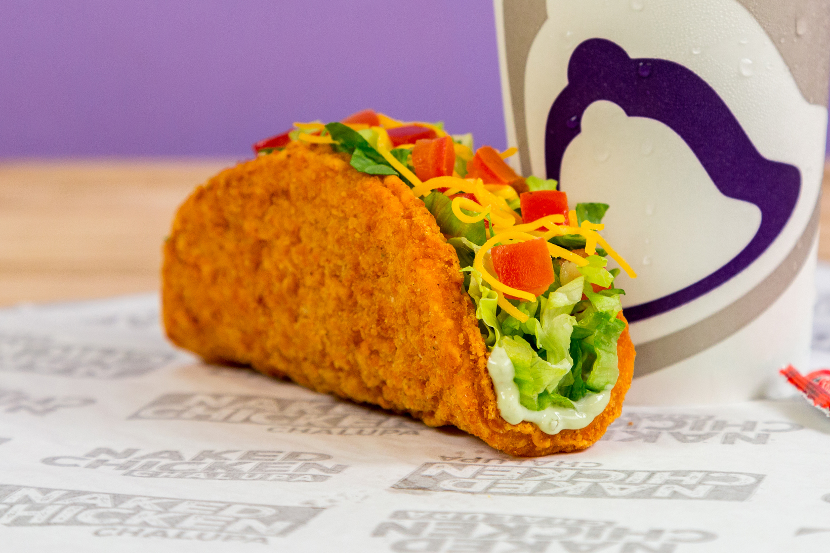 Taco Bell Naked Chicken Chalupa Fast Food