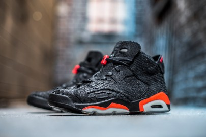 The Shoe Surgeon Decks out the Infrared Air Jordan 6 in Python