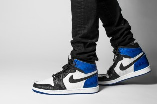 Brandon LaFell Hits up The Shoe Surgeon for Bespoke fragment design x Air Jordan 1's