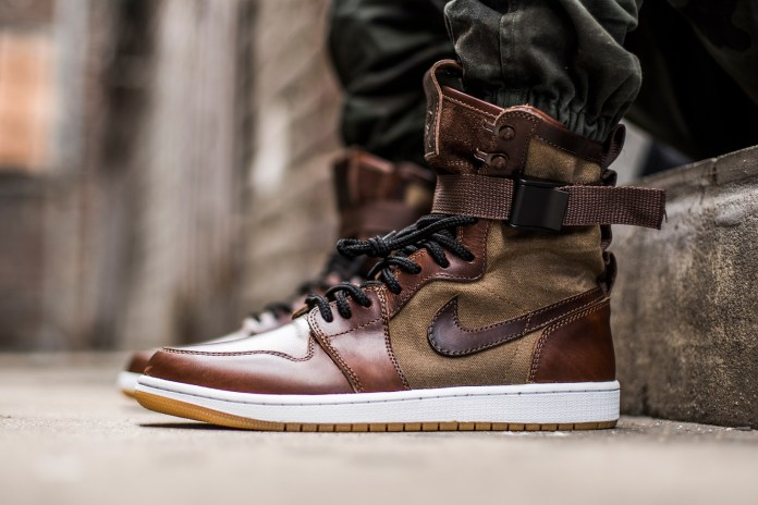 The Shoe Surgeon's Special Field Air Jordan 1 Is the Only One of Its Kind