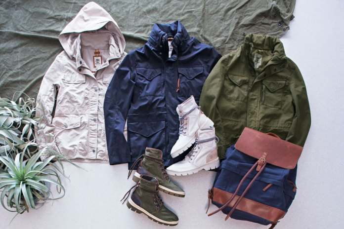 Timberland Adds Timeless Tactical Appeal to the 2017 Spring Summer Urban Military Collection
