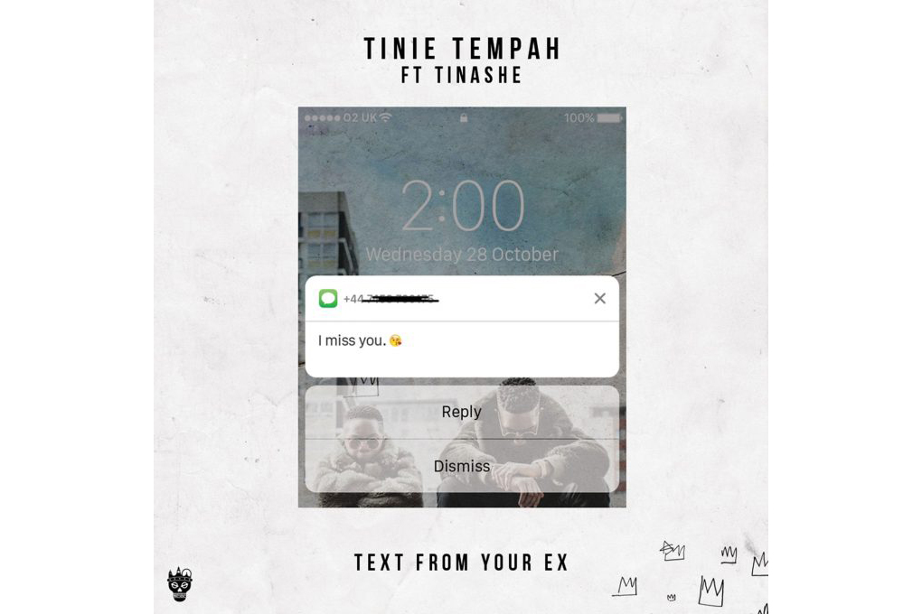 "Tinie Tempah ft. Tinashe ""Text From Your Ex"" - 3702898"