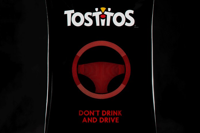 This Limited Edition Tostitos Bag Tells You When You're Drunk & Requests an Uber Ride