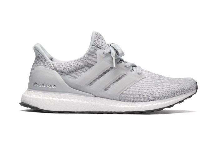 The adidas UltraBOOST 3.0 Goes Grey