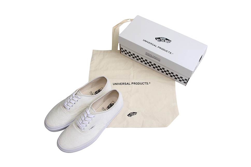 UNIVERSAL PRODUCTS Vans Authentic White Pony Hair - 3707200