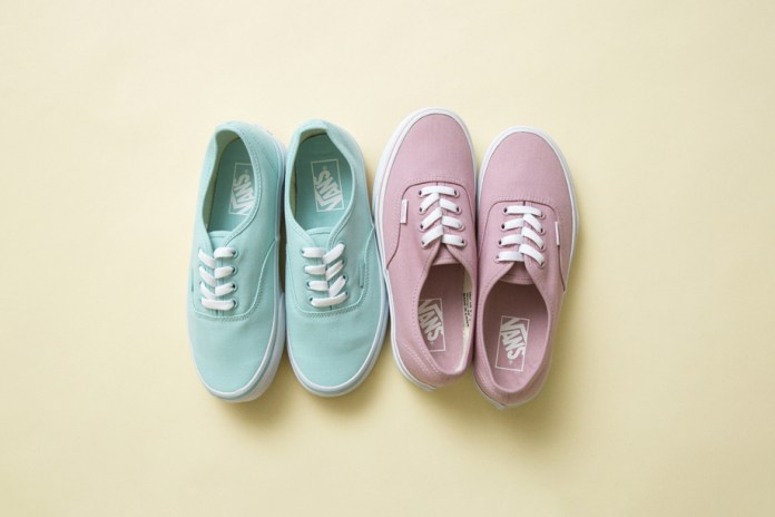 Vans Creates Two Exclusive Pastel-Colored Authentics for BEAUTY & YOUTH