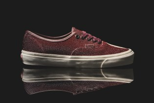 Vault by Vans Wraps the Authentic Silhouette in Premium Stingray Leather