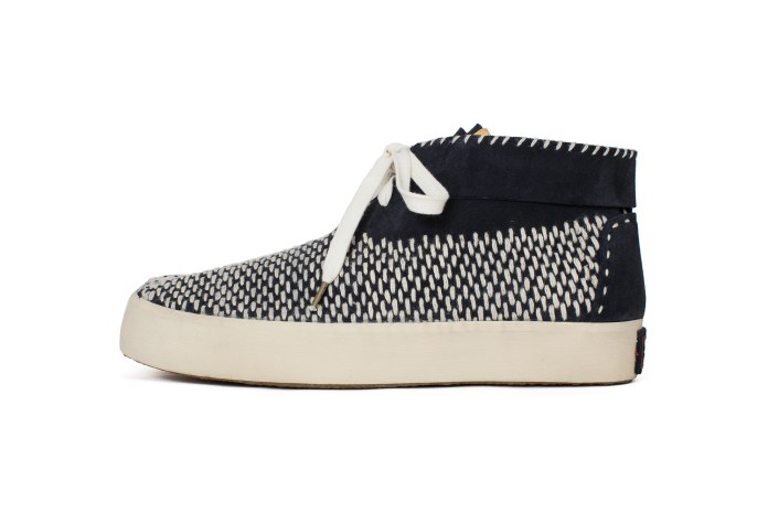 visvim Is Bringing Back the Tabi Sashiko-Folk Split-Toe Shoe