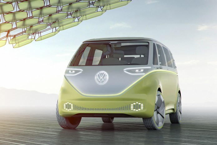 Volkswagen Puts the Future in Vintage With the ID BUZZ Concept Car