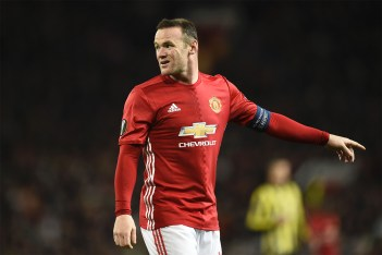 Picture of Wayne Rooney Offered a Staggering £1 Million GBP-A-Week Move