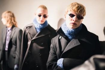 London Fashion Week Men's: Backstage at Xander Zhou