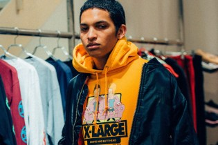 XLARGE Drops a 'Beavis and Butt-Head' Capsule Collection