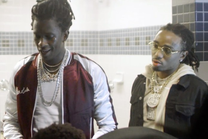 "Watch Young Thug's ""Guwop"" Video, Featuring Quavo, Offset & Young Scooter"