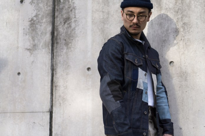 3sixteen Creates a Custom Patchwork Type 3s Denim Jacket for The Class Room