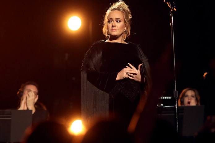 UPDATE: Adele Wins Album, Song & Record of the Year at 2017 GRAMMY Awards