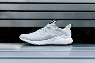 The adidas AlphaBOUNCE Gets a Sleek Gray and White Colorway