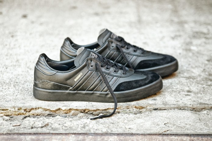 "adidas Busenitz Vulc RX Gets a Slick ""Triple Black"" Makeover"