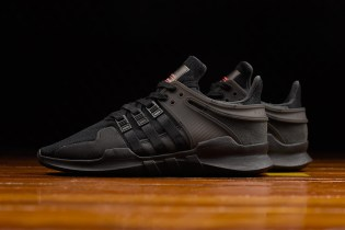 """The adidas EQT Support ADV Gets a Slick """"Shadow"""" Colorway"""
