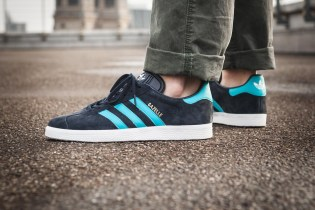 """adidas's Popular Gazelle Silhouette Gets Dressed up in A """"Legend Ink"""" Colorway"""