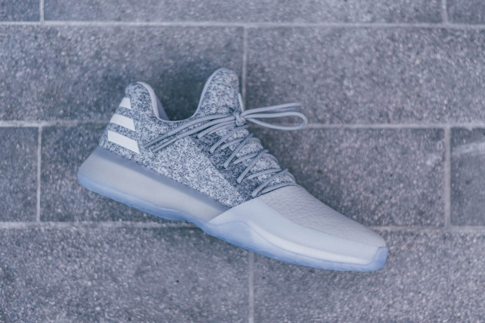 "The adidas Harden Vol. 1 ""Grayvy"" Reflects The Beard's Casual & On-Court Style"