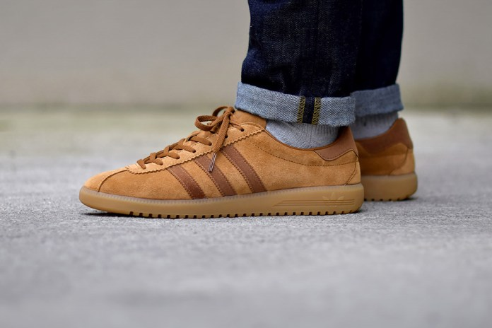 "The adidas Originals Bermuda Silhouette Returns in a Lush ""Tobacco"" Colorway"