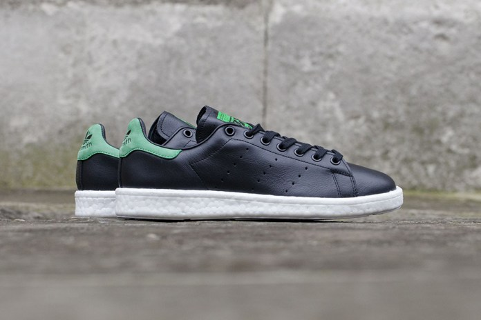 "The adidas Originals Stan Smith BOOST Surfaces in ""Core Black"""