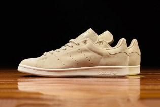 adidas Originals Wraps the Stan Smith in Premium Tan Suede
