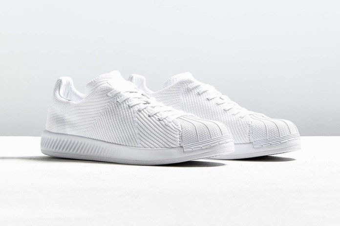 "adidas Originals Superstar BOUNCE Gets a ""Triple White"" Primeknit Makeover"