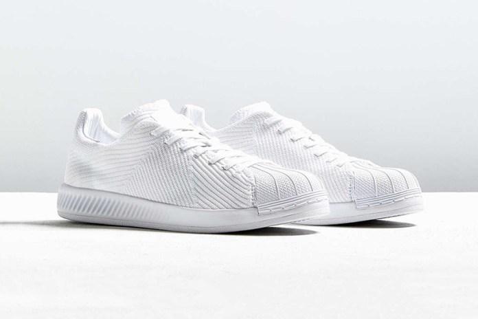 "adidas Originals Superstar BOUNCE Gets A ""Triple White"" Primeknit Makeover"