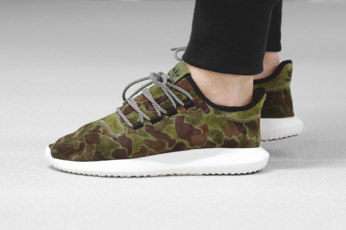 "adidas Originals Brings The ""Duck Camo"" Treatment to the Tubular Shadow"
