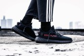 """Here's Your Chance at Buying the YEEZY BOOST 350 V2 """"Black/Red"""""""
