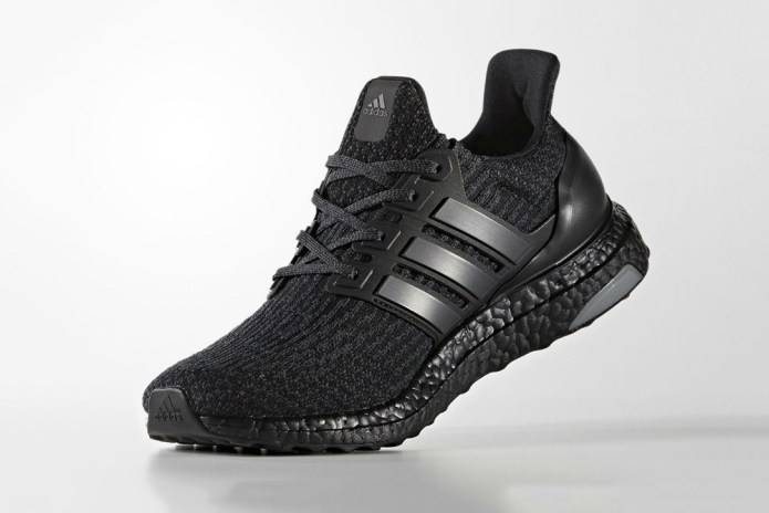 "The adidas UltraBOOST 3.0 ""Triple Black"" Is Releasing Next Week"