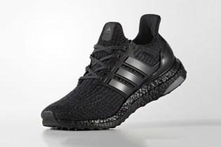 """The adidas UltraBOOST 3.0 """"Triple Black"""" Is Releasing Next Week"""