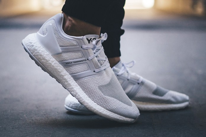 "An On-Feet Look at the adidas Y-3 Pure BOOST ""Triple White"""