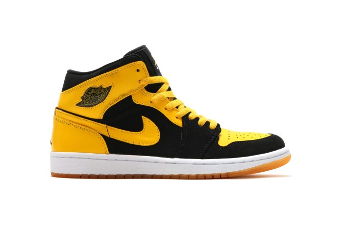 "The Air Jordan 1 Mid ""New Love"" Returns"