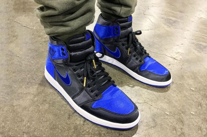 "The Air Jordan 1 Satin ""Royal"" Appears at Agenda Show"