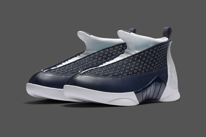 "Jordan Brand Is Set to Release An ""Obsidian"" Air Jordan 15"