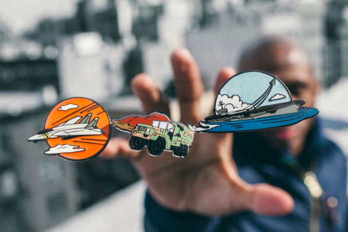 Alpha Industries & PINTRILL Unveil a Military Vehicle-Inspired Pin Set