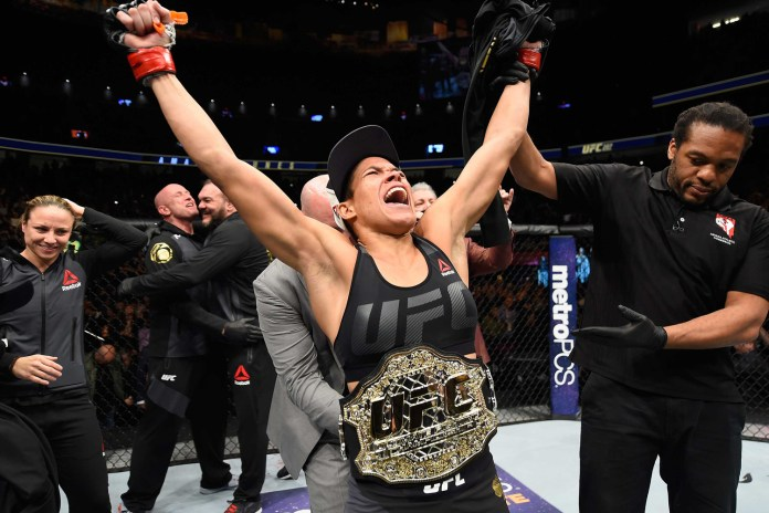 Amanda Nunes on KO'ing Ronda Rousey, the UFC Spectacle, Training, Girlfriend, and More