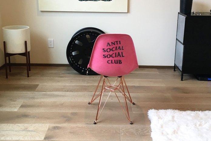 Anti Social Social Club Teases a Modernica Collaboration