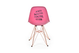 A Better Look at the Anti Social Social Club x Modernica Eiffel Side Shell Chair
